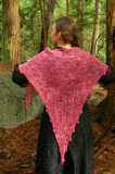 Ethereal Fichu knitted by Alexis Acken