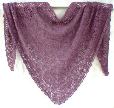 Triangles within Triangles Shawl