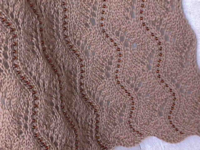 Lace Scarf Knitting Patterns   Design Patterns