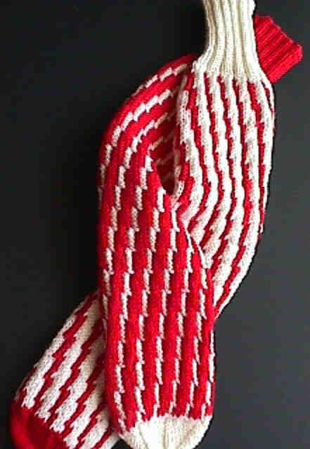 Peppermint Tube Socks Peppermint Sticks Tube Socks Pattern