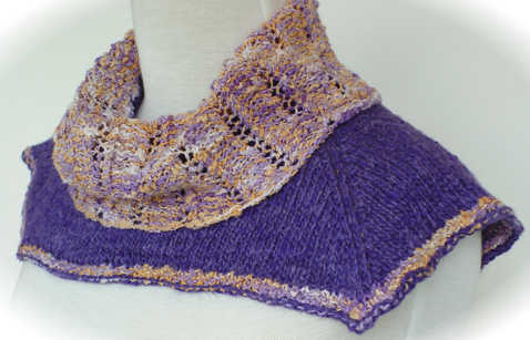 Feel free to jazz things up using more than one yarn color such as