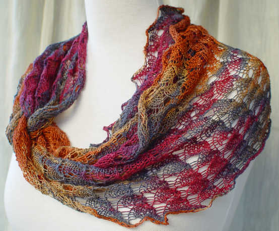 Infinity Scarf Ring Of Lace Wrap Infinity Scarf