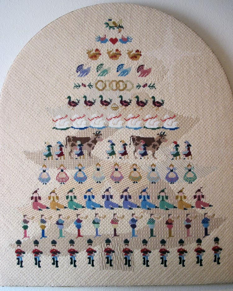 12 Days Of Christmas Cross Stitch.12 Days Of Christmas In Needlepoint Taking Time To Smell