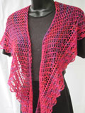 Loganberry Crescent Shawl