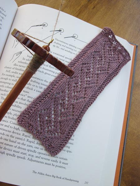 Lace Cable Bookmark