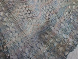 Crest of the Waves Lace Scarf