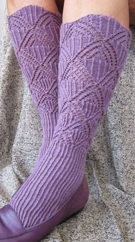 Stirrup leg warmers fit great with dress shoes