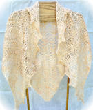 Elegantly Simple Triangle Shawl
