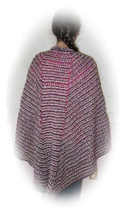 Troika Wrap-Around Faroese Shawl