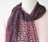 Lacy Serpentine Scarf