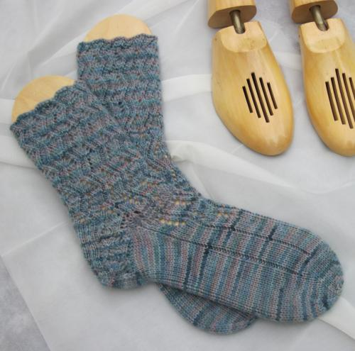 Errant Ankles Lace Socks