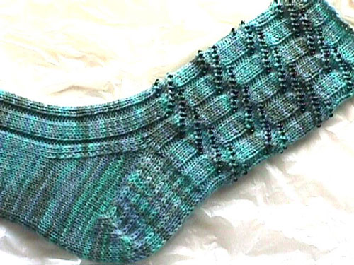 Other sock patterns beaded and lace knitting patterns from.