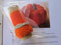 Little Beaded Pumpkin Kit