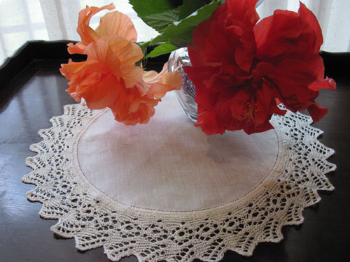 Lace-edged Doily