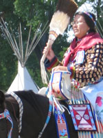crow fair parade