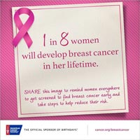 Get Screened for Breast Cancer Early
