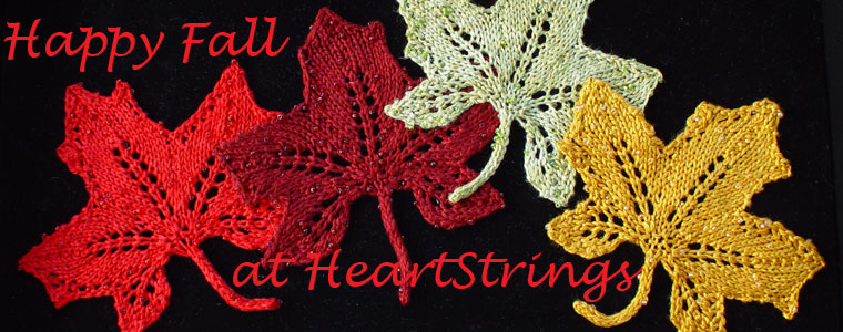Happy Fall at HeartStrings Lace Maple Leaves from the Playing in the Leaves Collection