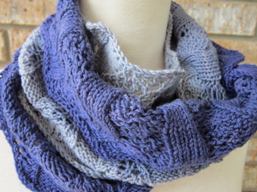 Circular Perspectives double loop cowl
