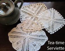 Tea Time Serviettes