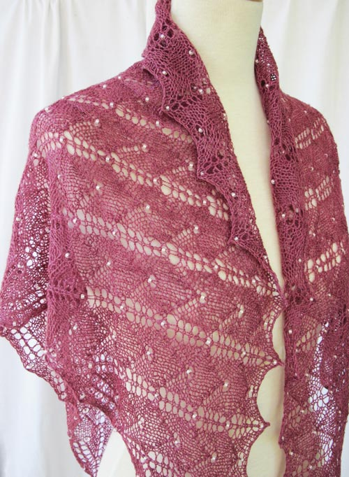 Beaded Lux Shawl