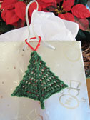 Bitty Beady Christmas Tree gift tag