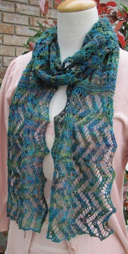 Lacy InterLACEments Scarf