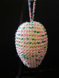 Fab Bead Egg Faberge-inspired beaded knit egg
