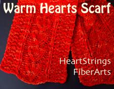 Warm Hearts Scarf