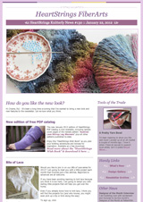 HeartStrings Knitterly News