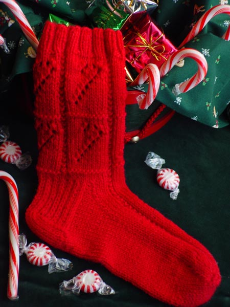 Ruggles Candy Cane Socks