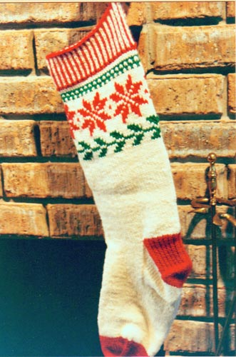Norwegian Christmas Stocking