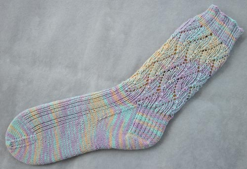 Pulled Salt Water Taffy Socks