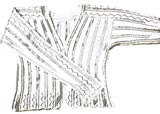 sketch of Pianissimo Lace Blouse