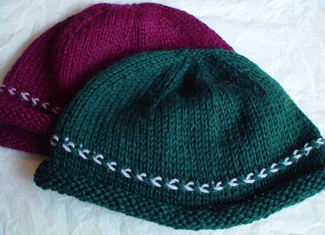 Knitting Pattern For Norwegian Hat : Norwegian Braid Hat :: Norwegian Braid Comfort Hat pattern