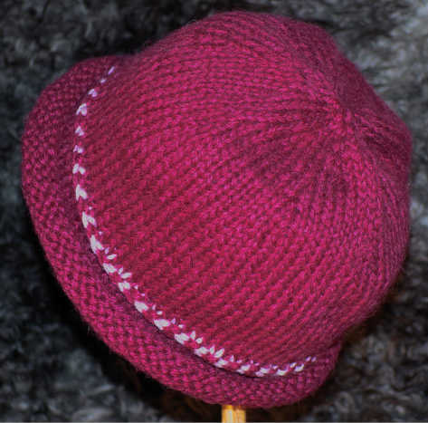 Norwegian Braid Hat in luxury alpaca blend