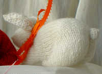 bunny made in kid mohair