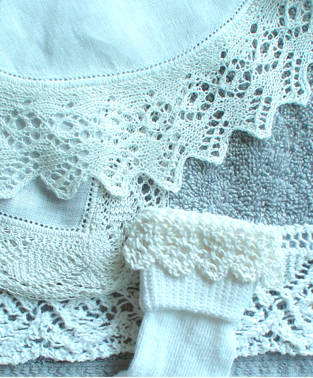 Knitted Edgings Patterns Free : Knitted Lace Edgings Class - Knitted Lace Edgings Class Description