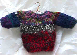 Miniature Sweater Ornament