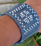Beaded Fleuron wristlets
