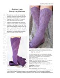 Sample cover page of HeartStrings Sock-Not Leggings pattern