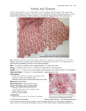 Sample cover page of HeartStrings Fairies and Flowers Scarf pattern