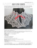 Sample cover page of HeartStrings Rock Star Choker pattern