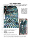 Sample cover page of HeartStrings Lacy InterLACEments Scarf pattern