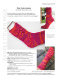 Sample cover page of HeartStrings Red Hots Anklets pattern