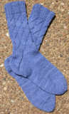 Everybody Wants Sox in Lorna's Laces Shepherd Sport color China Blue