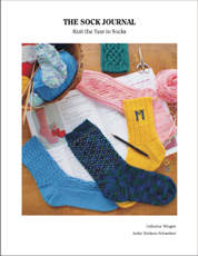 The Sock Journal - the second collection of designs by Catherine Wingate, edited and published by Jackie Erickson-Schweitzer