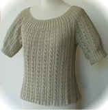 Eyelet Ribbed Sweater