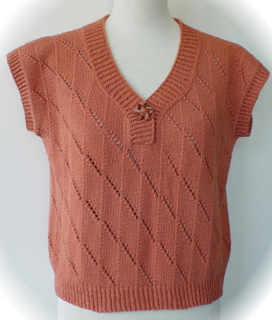 Twist and Slant Sweater