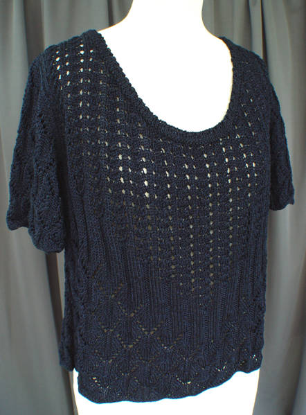 Lace and Ribs Sweater