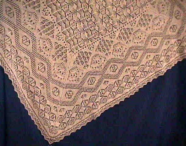Shetland Lace Shawl Shetland Lace Wedding Ring Shawl